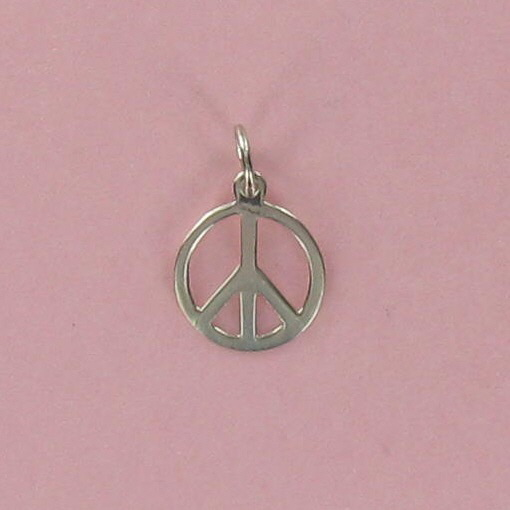 PEACE Sign Charm - Small