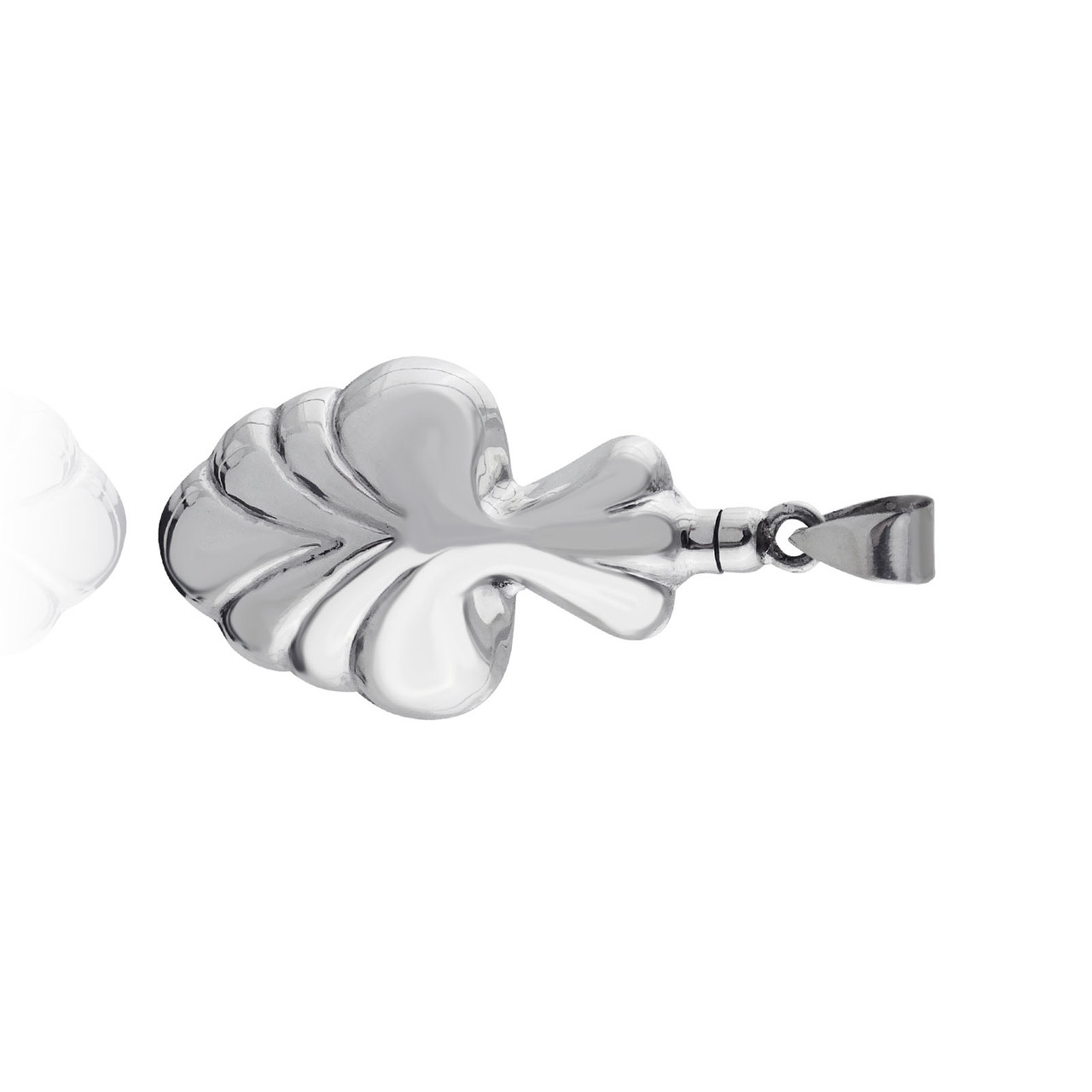 Decorative Urn Memorial Pendant - 925 Sterling Silver - PERFUME Holder or Ashes