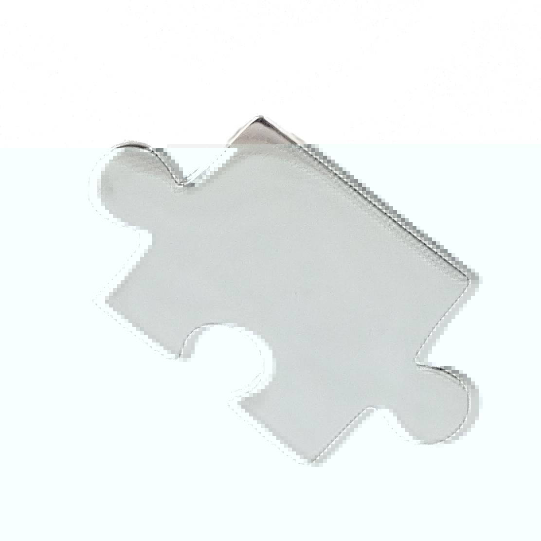 PUZZLE Piece Pendant - 925 Sterling Silver